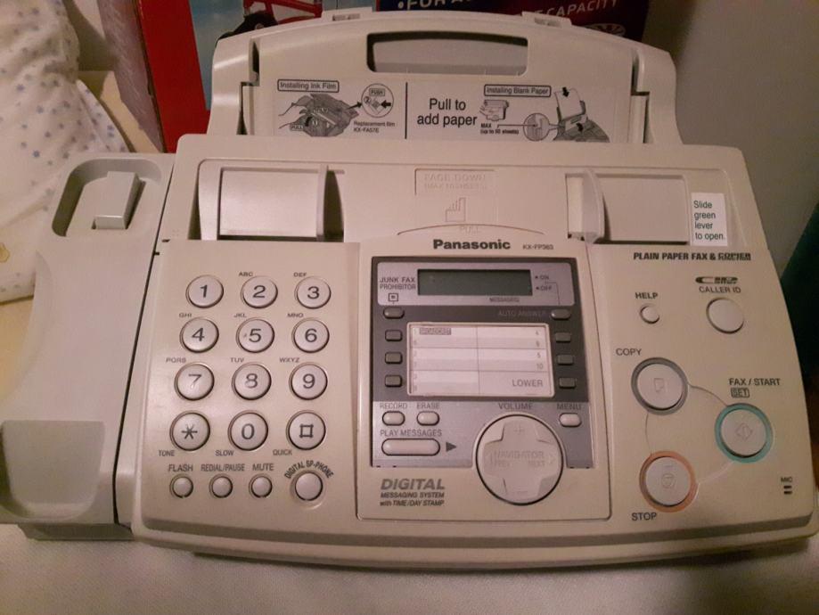 Panasonic KX-FP 363 telefon, fax i sekretarica