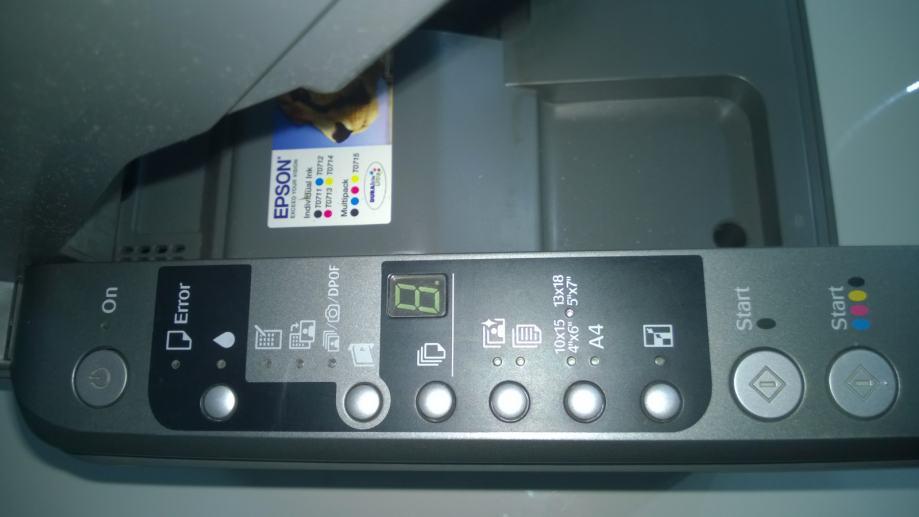Printer EPSON Stylus DX 5050 ( 3 u 1 )