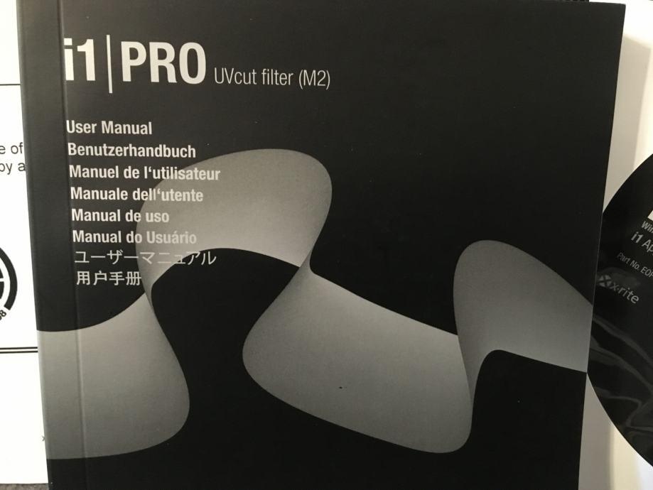 Xerox i1Pro UVcut Filter (M2) Spectralphotometer X-rite