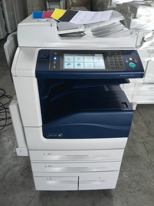 Xerox Workcentre 7525 A4/A3 Color FOTOKOPIRNI UREĐAJ