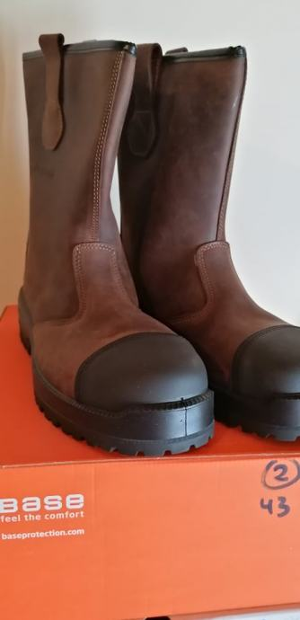 muške čizme(koža)nove,broj 43