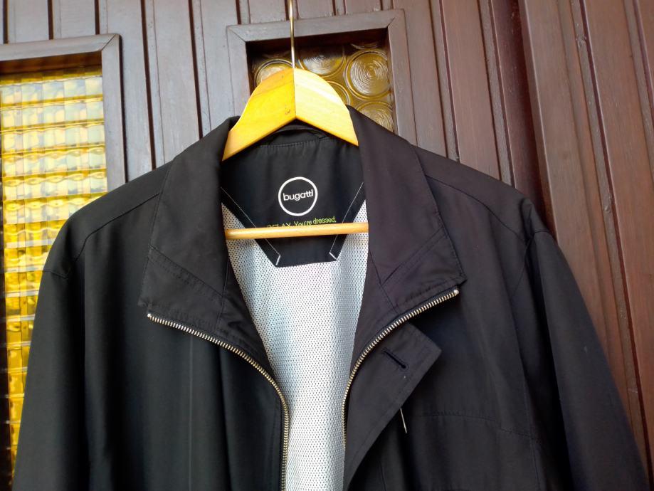 Bugatti muška duža jakna crne boje XL