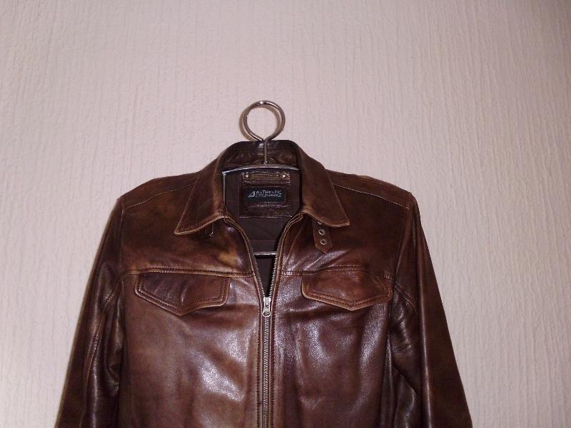 Muška jakna od prave kože vel. 56