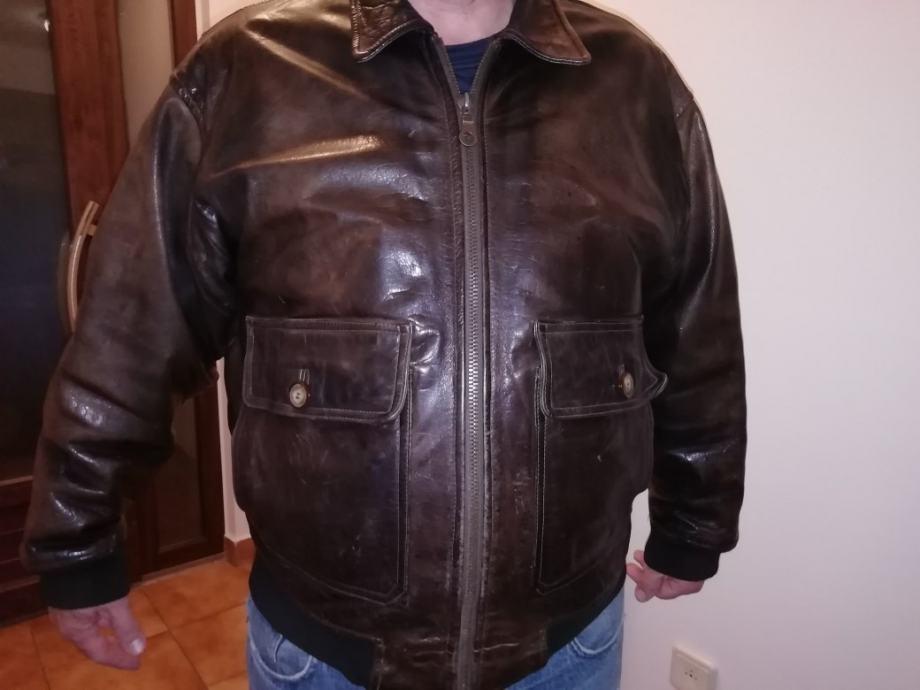 """Pilotska kožna jakna O""""henry"""