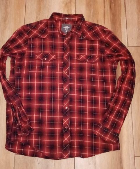 L. O. G. G. H&M karirana košulja dugih rukava br. XL