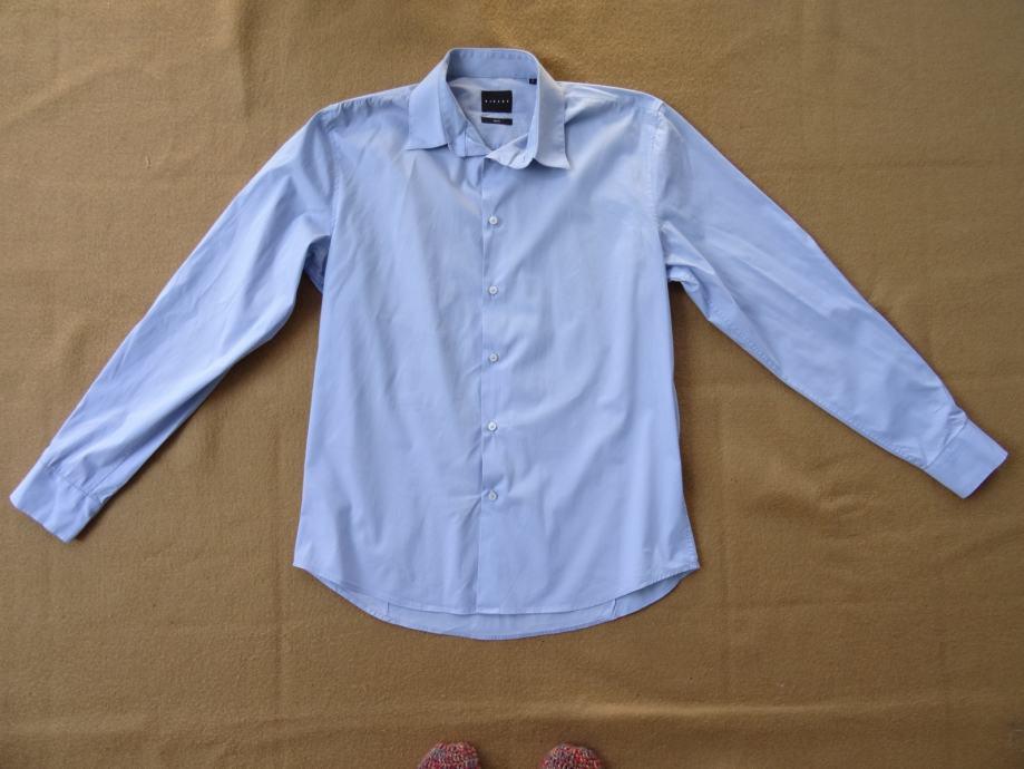 Muška plava košulja Sisley vel. 42 ; L
