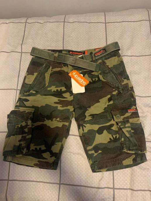 Superdry muške kratke cargo hlače