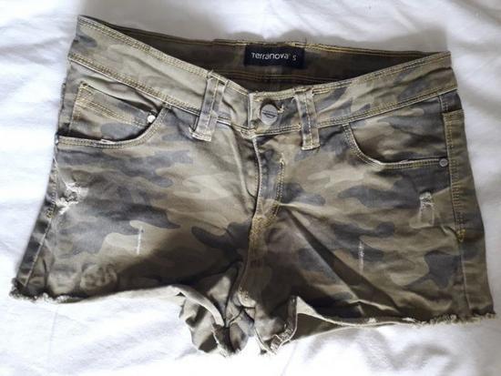 Traper vruće hlačice šorc 36 military