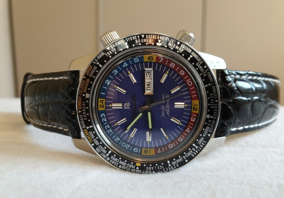 Ricoh World Timer GMT Automatic