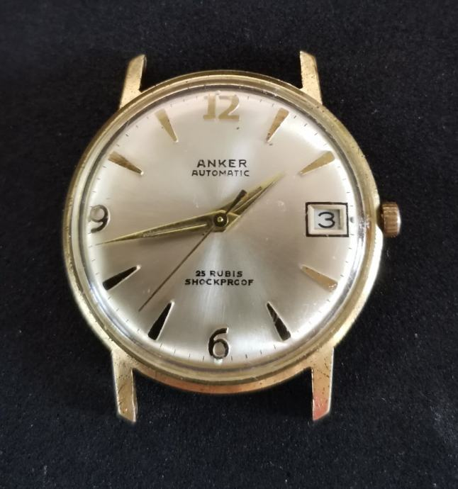 """SAT """"ANKER"""" AUTOMATIC 25 RUBIS-WEST GERMANY"""