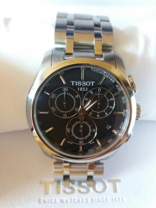 TISSOT COUTURIER T035.617.11.051.00 Muški sat s kronografom