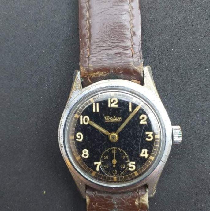 """WATEX""-stari vojni sat,ispravan,sačuvan"