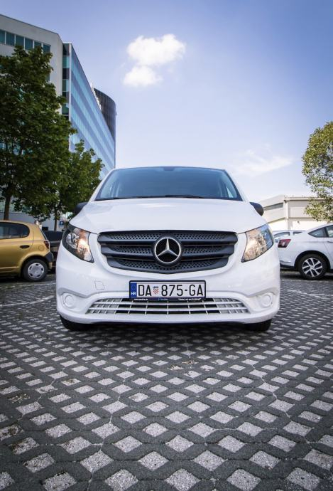 Najam furgon kombi vozila - Mercedes Vito 2019. VINTAX rent
