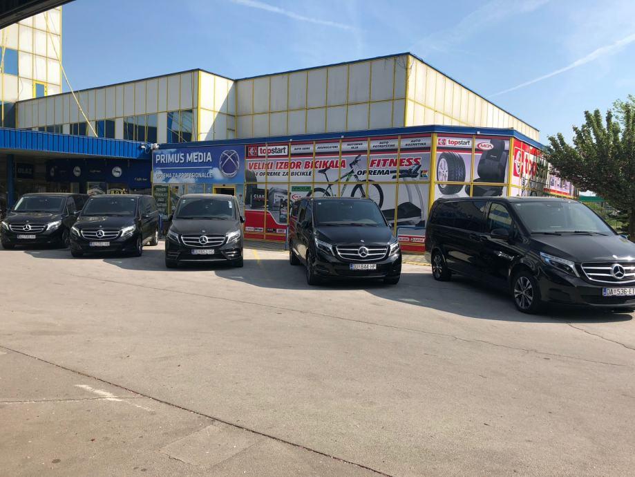RENT A CAR -V KLASA 220d LUKSUZNA VIP NOVA VOZILA - ZAGREB NOVO !!!!