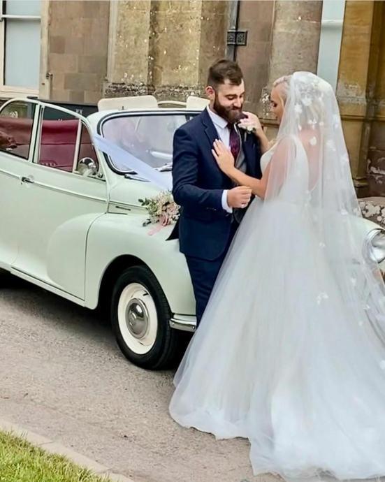 1968 morris minor kabriolet iznajmljujem za vjenčanja