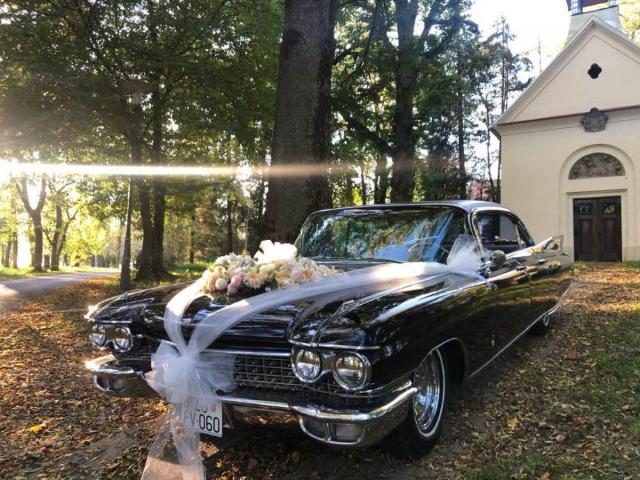 Najam oldtimer Cadillac Fleetwood SixtySpecial 1960 vjenčanja snimanja