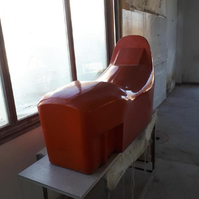 AKCIJA - jahača konzola 135x45x45 cm