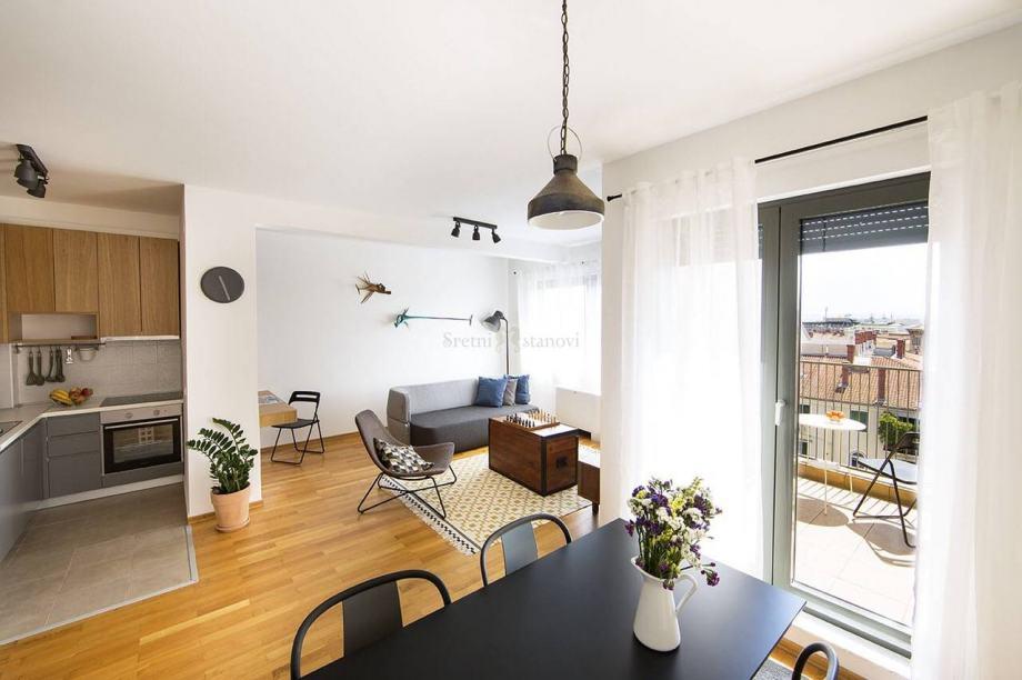 Centar, 1S+DB, moderan stan, 65 m2 (iznajmljivanje)