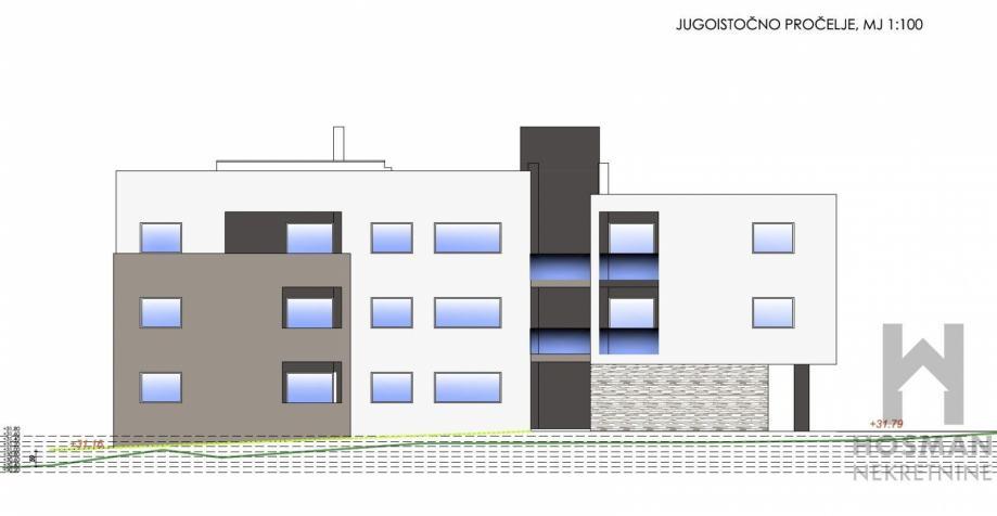 Dvosoban stan u novogradnji 63.5m2 Zadar / Petrići (prodaja)
