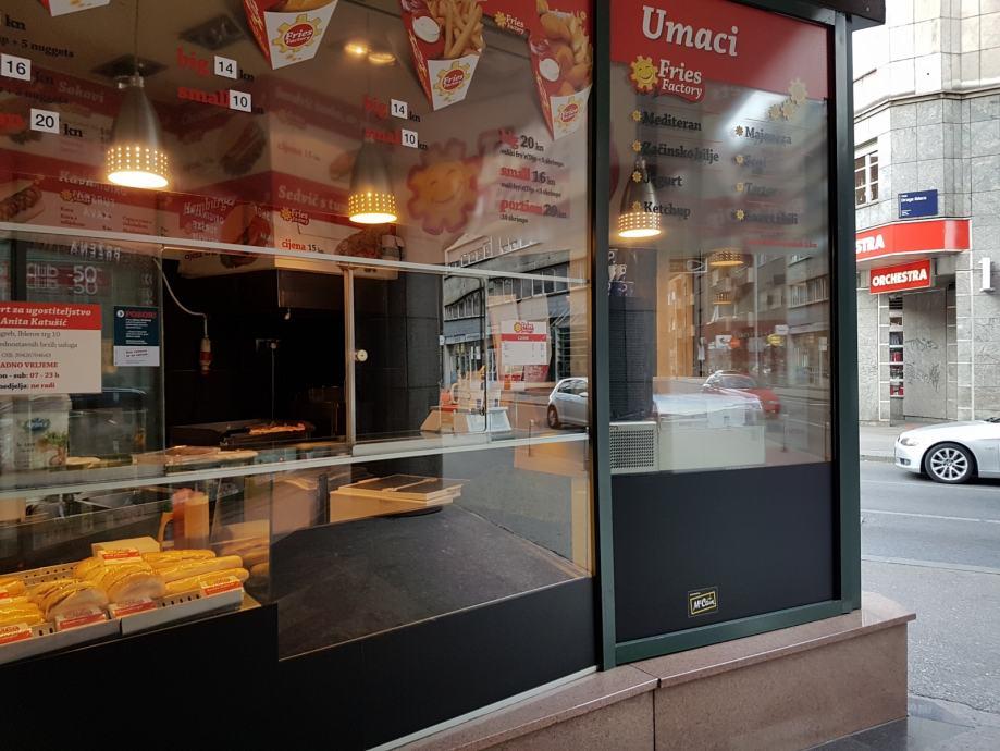 Fast Food Zagreb Centar 10 60 M2 Iznajmljivanje