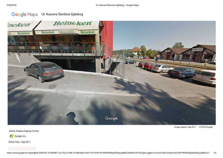 Garaža: Zabok, 12,5 m2 (prodaja)