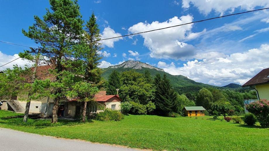 Gorski kotar, Kupska dolina, autohtona kuća (prodaja)