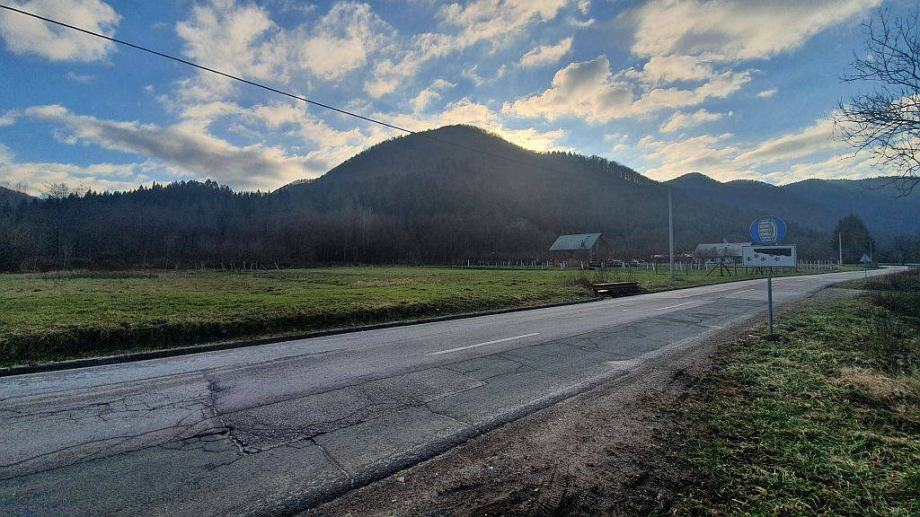 Gorski kotar, Kupska dolina zemljište