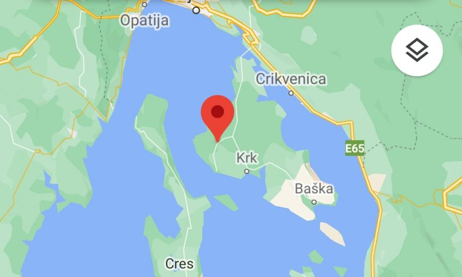 Građevinsko/komercijalno zemljište, otok Krk, 3300 m2