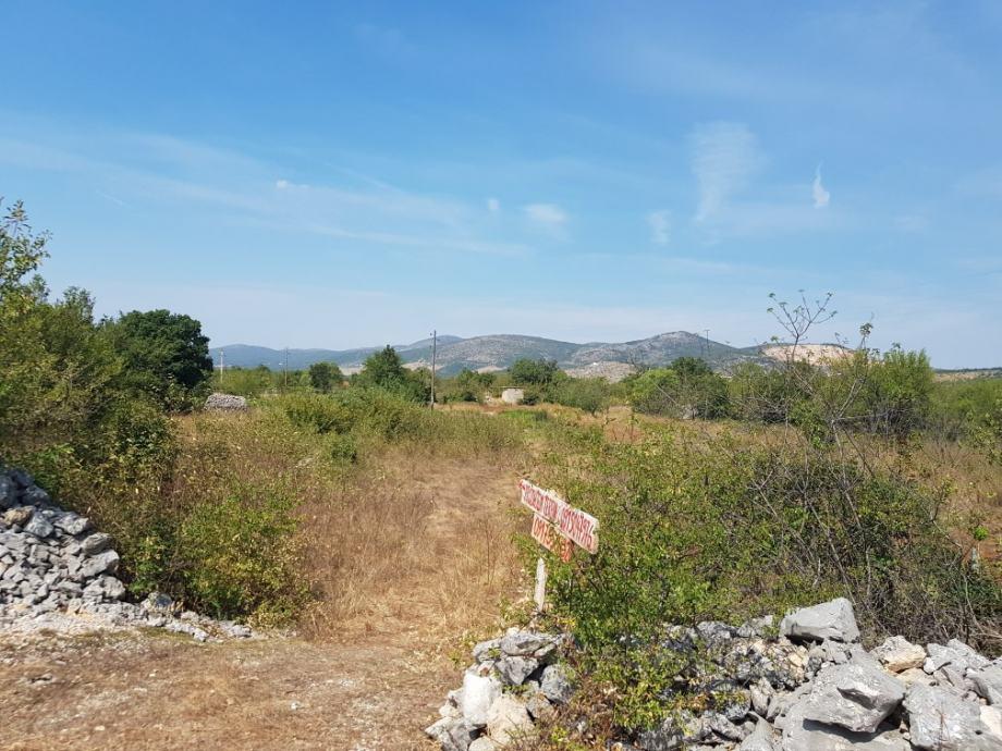 Građevinsko zemljište, Dugopolje, 1250 m2