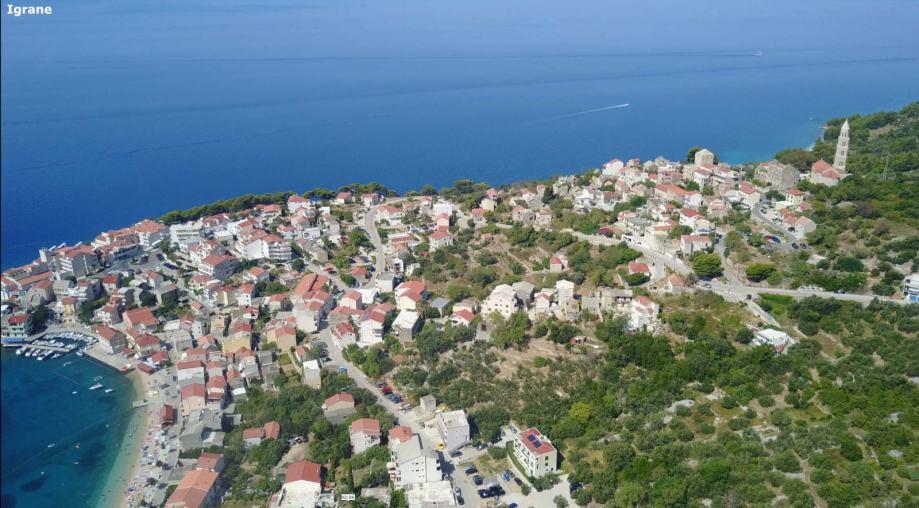 Građevinsko zemljište, Igrane, 689 m2 (parcela) Makarska Riviera