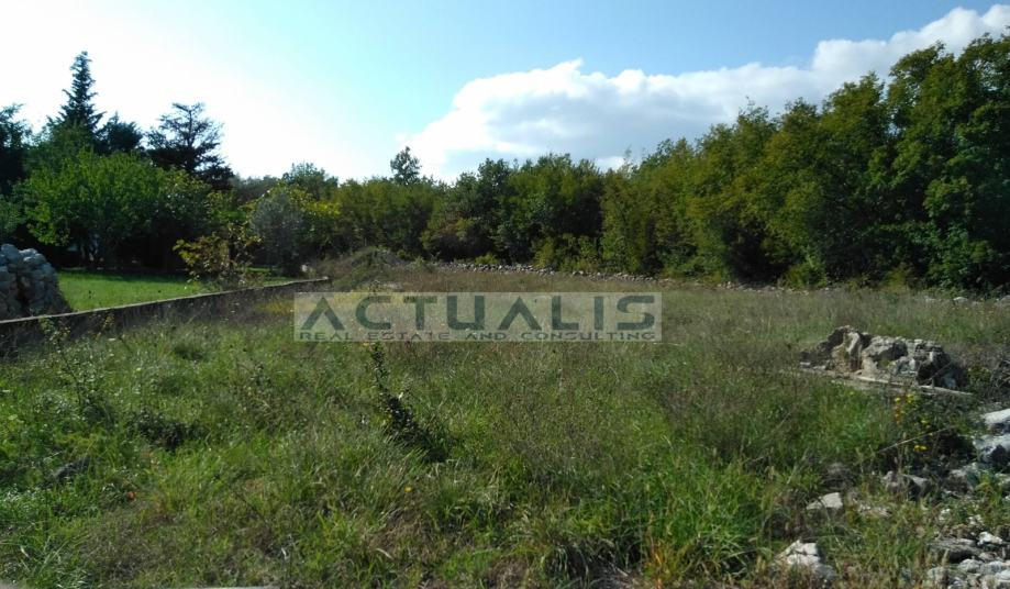 Građevinsko zemljište, Krk-Hlapa, 1340 m2