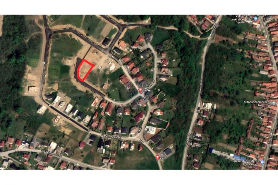 Građevinsko zemljište u Mihovljanu, 816m2