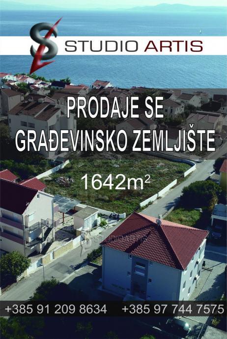 Građevinsko zemljište, Okrug Gornji, 1642 m2