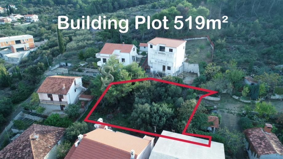Građevinsko zemljište, Arbanija, Čiovo 519 m2