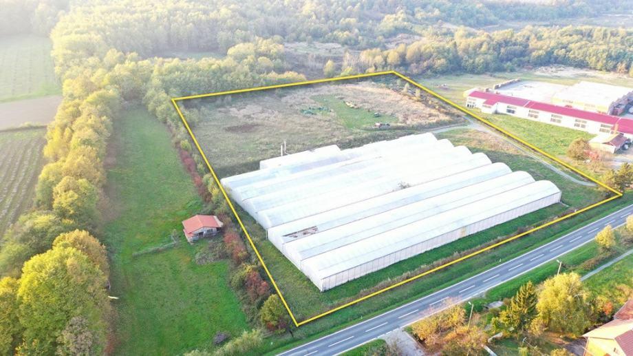 Građevinsko zemljište/plastenici , Orahovica,  7343 m2