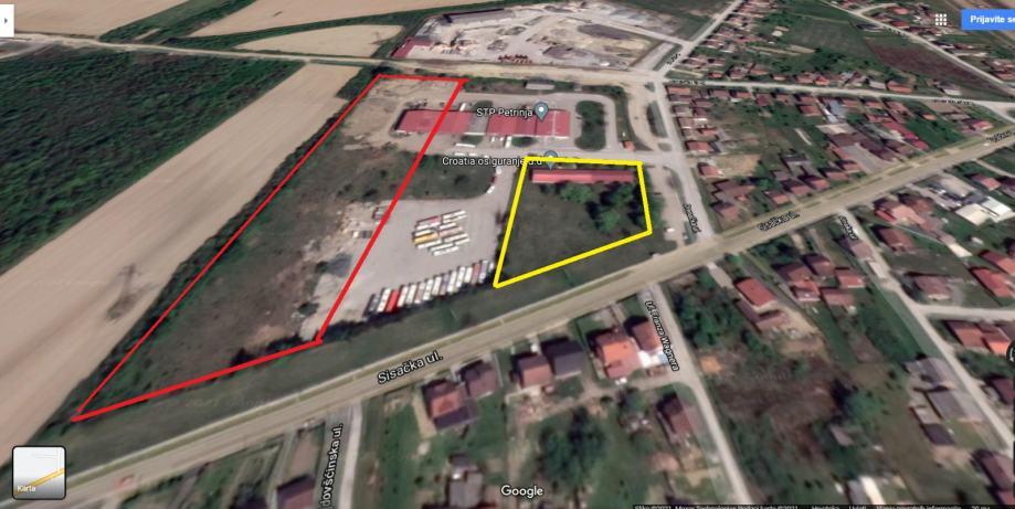 Građevinsko zemljište sa poslovnim zgradama, 23122 m2