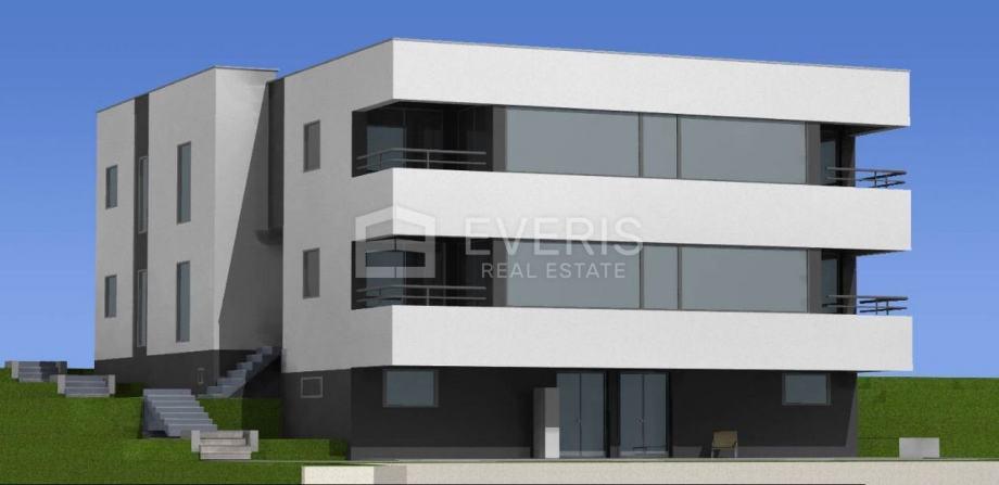 Kostrena, stan 115 m2 s pogledom na more (prodaja)
