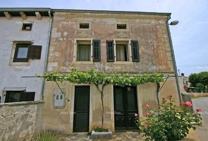 Kuća Kamena kuća, blizina Vrsara. (prodaja)