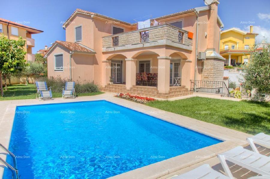 Kuća Ližnjan, samostojeća kuća sa bazenom i uređenom okućnicom. (prodaja)
