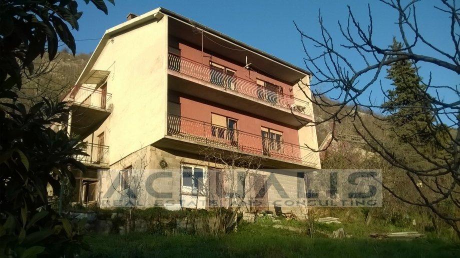 KUĆA RIJEKA, 250 m2,podrum+2 kata+garaža,1300m2 građ.zemljišta uz kuću (prodaja)