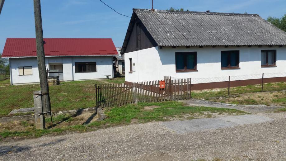 Vezišće, dvije kuće sa pomoćnim zgradama, prodaja (prodaja)