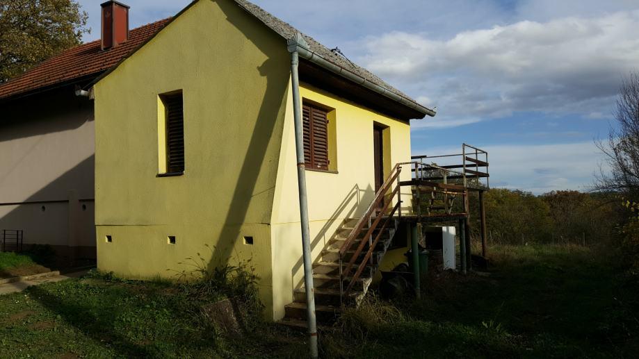 Letičani, Vikendica 45 m2 s vinogradom 900 m2
