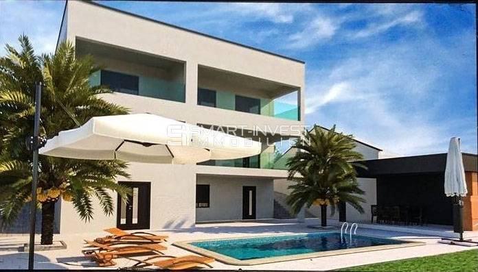 LOVRAN, NOVOGRADNJA 2S+DB, 85 m2, pogled na more, parking, bazen (prodaja)