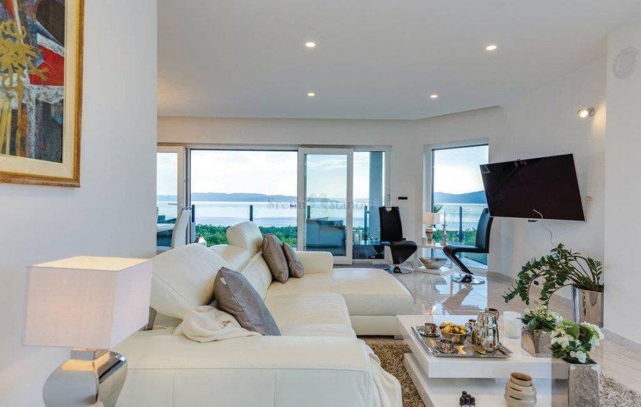 Luksuzni stan u Kostreni, 2S+DB, 120m2 (iznajmljivanje) (iznajmljivanje)