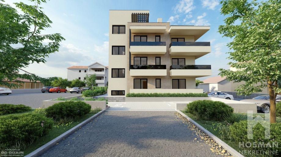Luksuzni stanovi u novogradnji Zadar / Borik  (virtualna šetnja) (prodaja)