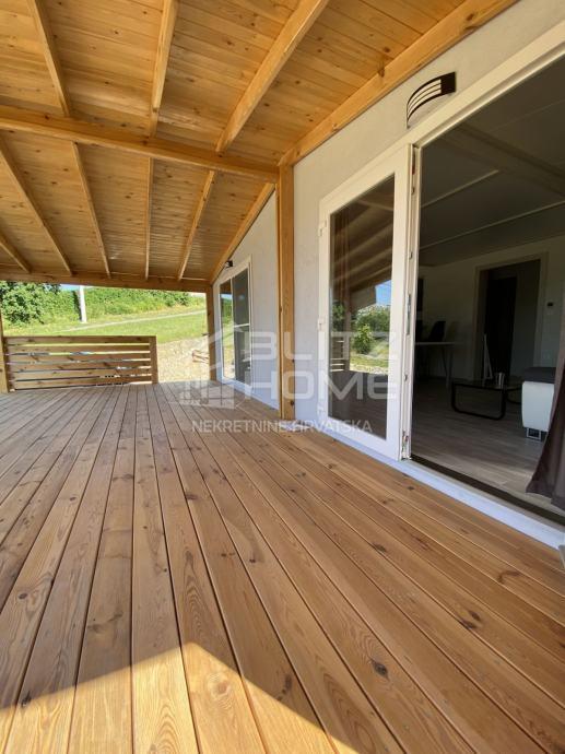 Montažna kuća  na parceli od 1250m2 (prodaja)