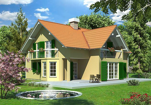 Montažna kuća s potkrovljem, 257 m2, Iva