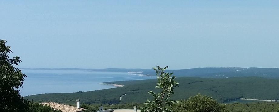 Nekretnine u Istri,Labin - Rabac, građevinsko zemljište s pogledom na