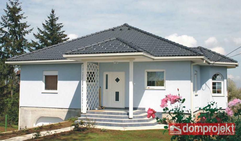 Niskoenergetska kuća: Montažna kuća, 115 m2, Elizabeth