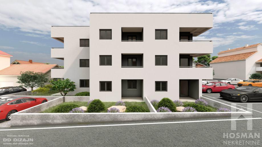 Novogradnja!!! Dvosoban stan 78.54m2 Zadar / Melada Top lokacija!!! (prodaja)